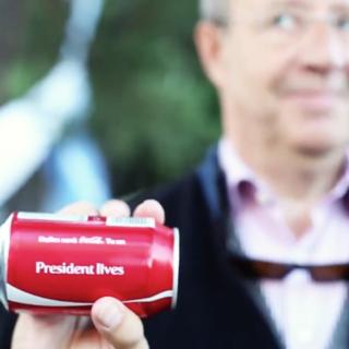 Coca-cola I Toomas Hendrik Ilves I Positivus I Orangetime Event