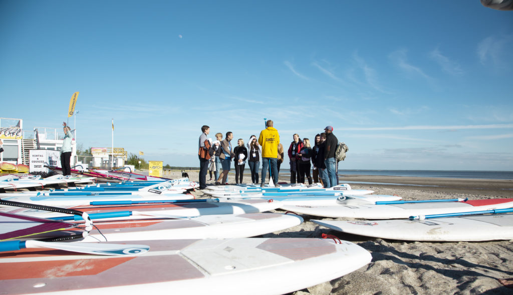 SUP boards - beach