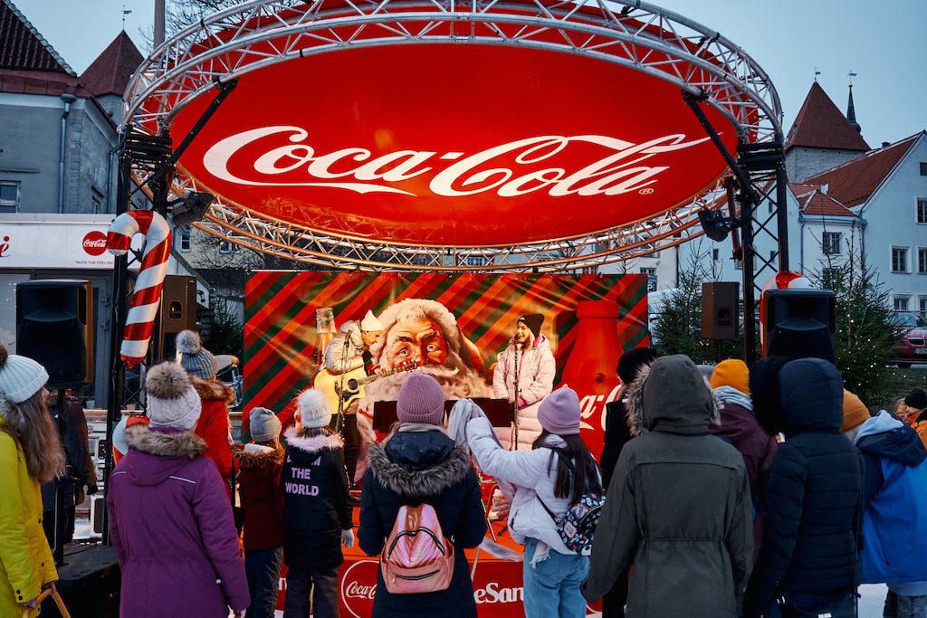Coca-Cola - Santa- event